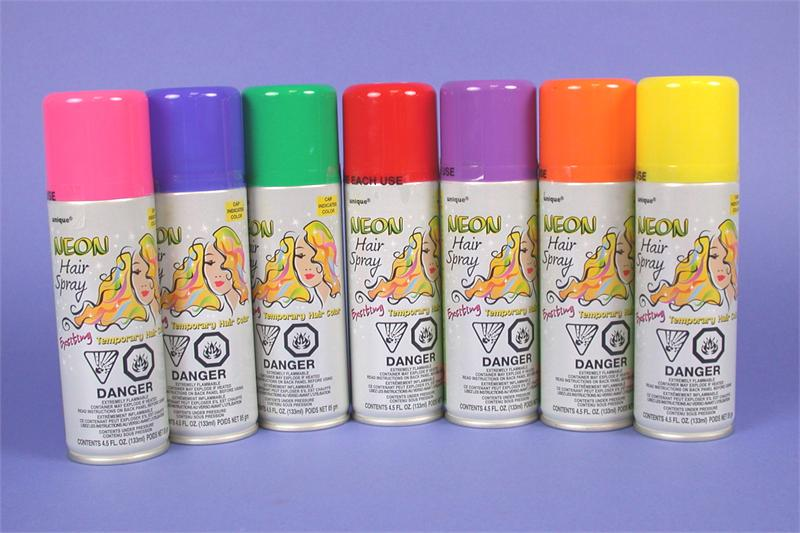 Colored Hairspray - MANY COLORS!